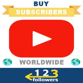 Buy International Youtube Subscribers