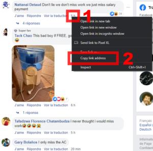Link Facebook Comment
