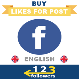 Buy English Facebook Likes For Post