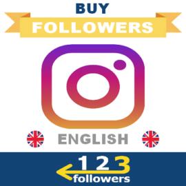 Buy English Instagram Followers