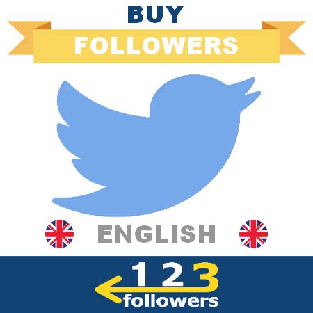 Buy English Twitter Followers