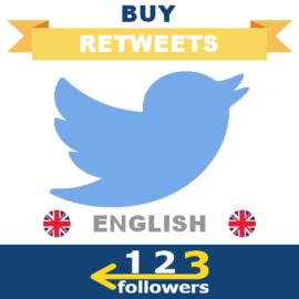 Buy English Twitter Retweets