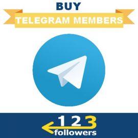Buy Telegram Members for Channel or Group