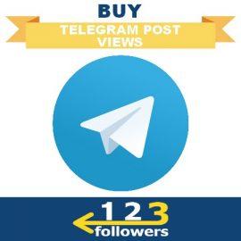 Buy Views for Telegram Post