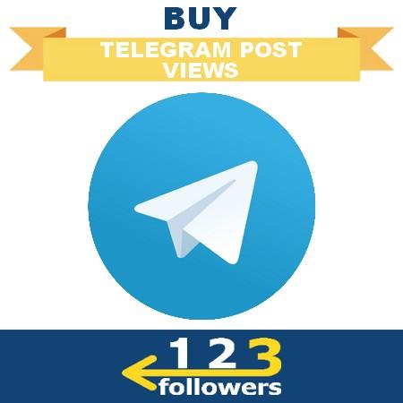 Buy Telegram Post Views
